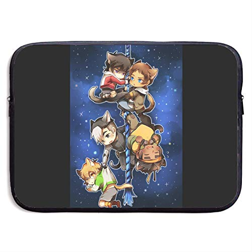 Chibi Voltron Onesie Fashion Laptop Sleeve Bag 13/15 Inch Notebook Computer Water Repellent Polyester Protective Case