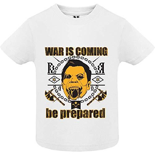 LookMyKase T-Shirt - World War - Bébé Garçon - Blanc - 2ans