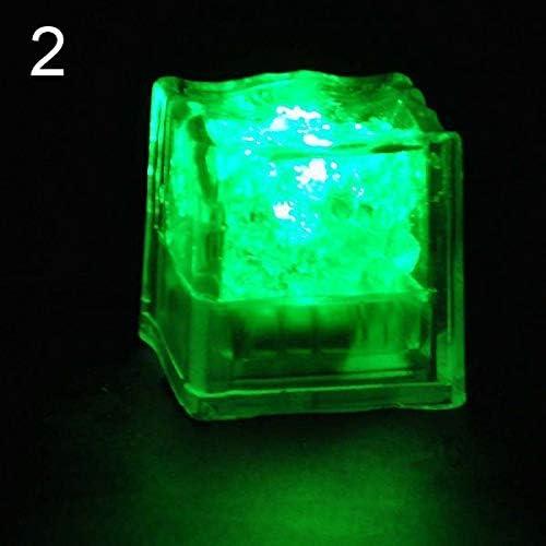 Baost 1 Pc Battery Operated Ice Cube LED Light Night Lamp Liquid Sensor Light Up Ice Cubes LED product image