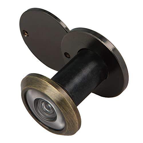 Amig - Mirilla para Puerta 2 diámetro 14 25-42mm Laton Cuero Display
