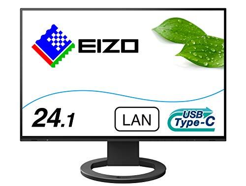 EIZO FlexScan EV2495-BK (24.1型/1920×1200/フレームレスモニター/アンチグレアIPS/疲れ目軽減/ブラック)
