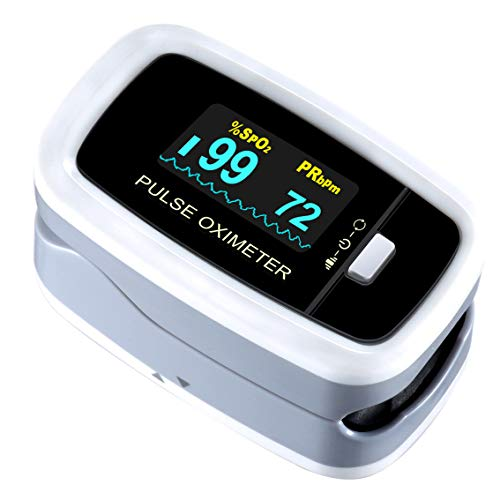 Pulse Oximeter Fingertip, ATMOKO Pulse Oximeter Finger Oximetry SPO2...