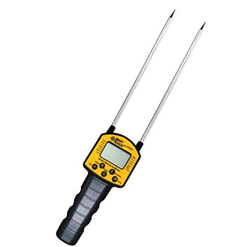 Dhmm123 Digitales Feuchtemessgerät for Feuchtemesser Hygrometer Getreidemessung Feuchtetester AR991 Verwendung for Mais, Weizen, Reis, Bohnen, Weizenmehl, Futtermittel, Rapssamen
