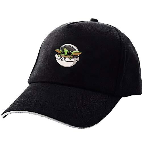 SIX-Day Yoda Snapback Cap Fashion Verstellbare Kappe Herren Damen Baumwolle Denim Cap, 0, H08