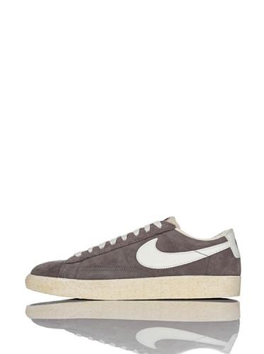 Nike Herren Blazer Low PRM (VNTG) Sneaker, grau/weiß, 47.5 EU