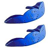 UJULUJ Protector bucal Deportivo, Protector bucal de 1,6 mm para Baloncesto, fútbol, Hockey, Lacrosse, Boxeo, Ajuste Personalizado para Adultos