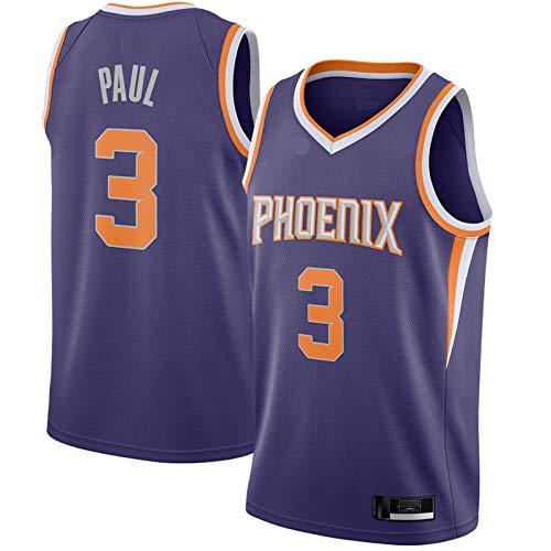 2020/21 Jersey Herren Phoenix Suns Basketball Trikot #3 HeimBasketball Trikot Chris Paul Uniform Trikots Weste Lila