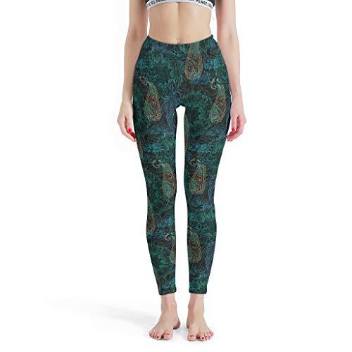 XHJQ88 - Womens Sportbroek, Mandala Leggings Depot Hoge taille Leggings Patronen Zomer Capri Panty Capris Broek voor Vrouwen Losse
