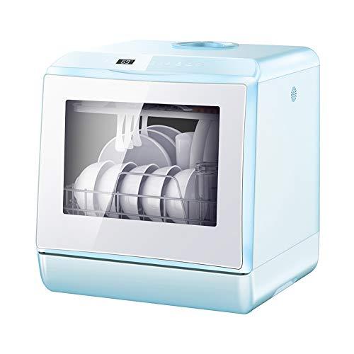 Mini casa Desktop Lavastoviglie, frutta e verdura a secco, embedded LAVASTOVIGLIE, Double-Layer grande capacità, ad alta temperatura e alta pressione di lavaggio