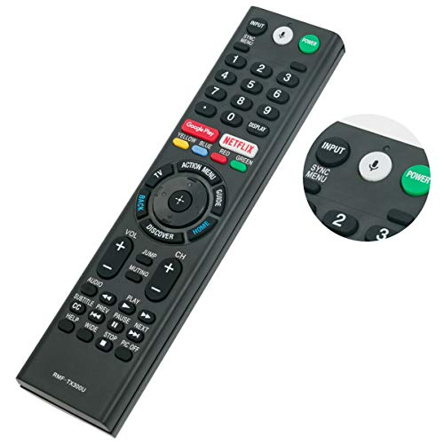 Replacement TV Remote Control Controller for Sony XBR55X900E XBR-55X900E 55-Inch 4K Ultra HD Smart LED TV