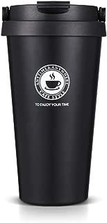 SLOSH Vaso Termico Café Termo Taza Termica Viaje (Negro