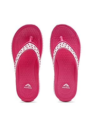 ADDA Women's Purple Flip-Flop