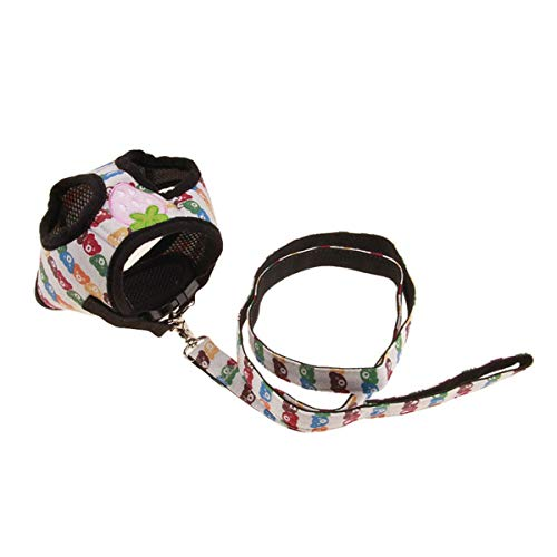 Kleine Aardbei-beschermde Chest-back Traction Pak Hond Tractie De Pet Borstband Is, Comfortabel Om Aanraken, En Onschadelijk. Het is gemaakt, veilig, milieuvriendelijk