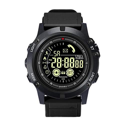 XNNDD Digitaluhr Herren Sportuhr Running Fitness Herrenuhr Chronograph Smart Sportuhr wasserdicht und staubdicht