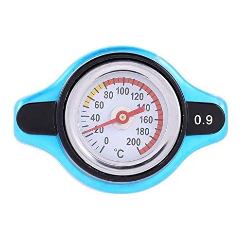 Kraftstoffanzeige Auto-Motorrad-Kühlerdeckel Wassertemperatur Meter Thermostat Messgerät verbessert Heizkörper-Druck-und Kühlleistung QPLNTCQ (Color : 0.9Bar, Size : Kostenlos)