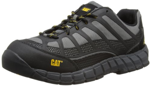 CAT Footwear STREAMLINE CT Náuticos hombre, Gris (Charcoal/Blk), 41