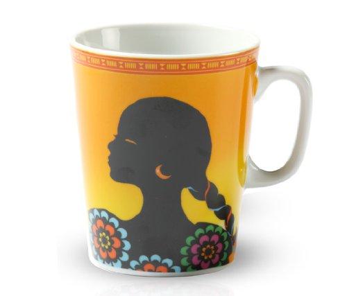 Tchibo Sammeltasse Kaffeetasse Kaffeebecher Tasse Sonderedition Designed by Ritzenhoff Tasse (Südamerika)