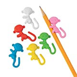 Monkey Pencil Hugger Erasers - Classroom Supplies, Party Favors and Giveaways - Bulk set of 24
