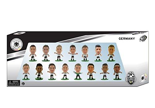 SoccerStarz 402941 - Offizielles Figur der Deutsch Fußball- Nationalmannschaft (2016 Edition), 15-er Team Pack