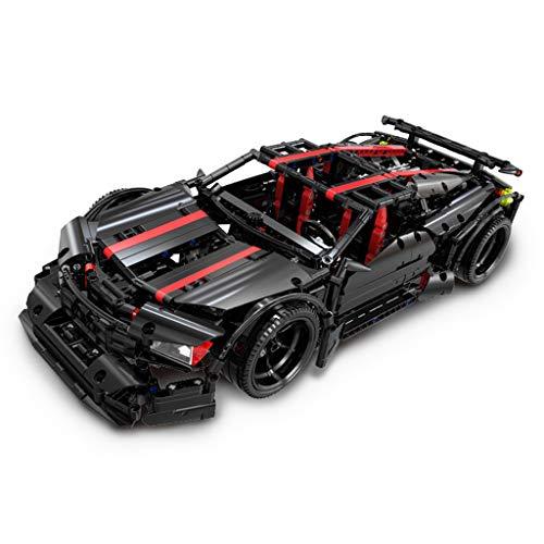 WYY Technic Asesino X19 Racing Car Model Building Blocks, Ladrillos de construcción (Moc 1809 PCS), Bricolaje construcción de Juguete Juego de Adulto o niño