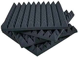 Paneles Piramidales Absorción De Sonido 50x50x6cm D25