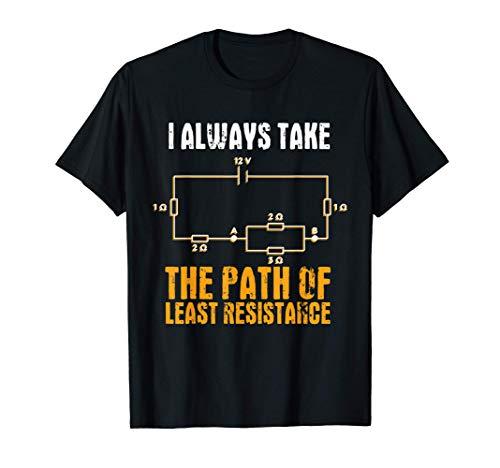 Gran Regalo De Electricista E Ingeniero Eléctrico Camiseta