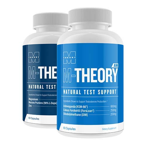 M Theory AM & PM - Best Testosterone Booster and Testosterone Support Supplement
