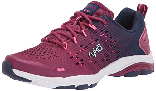 Ryka womens Vivid Rzx Cross Trainer, Raspberry, 8.5 US