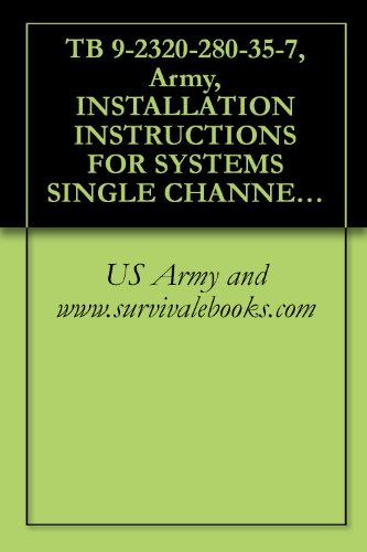 TB 9-2320-280-35-7, Army, INSTALLATION INSTRUCTIONS FOR SYSTEMS SINGLE CHANNEL GROUND AND AIRBORNE RADIO SYSTEM (SINCGARS) AN/VRC-88F, AN/VRC-89F, AN/VRC-90F, ... FOR VEHICLES TRUCK, UTILITY, 4-DOOR: ARMAM