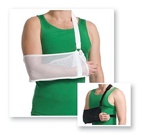 Arm Sling Armschlinge Schulter Schlinge Stütze Halterung Armbandage Bandage 9912 Weiss M