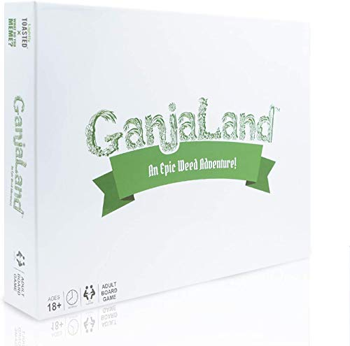 Ganjaland - The Novelty Board Game That Will Take You On an Epic Adventure - by What Do You Meme?