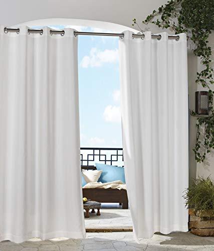 extérieur Décor Tonnelle Intérieur Extérieur Panneaux de fenêtres, 50 par 84, Blanc