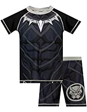 Marvel Jongens Black Panther Zwemset