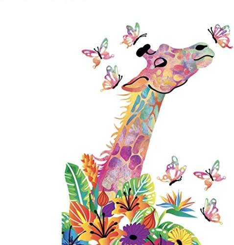 Diy pintura al óleo digital Volcano dragón volador Animal DIY Dibujo Pintura por números Lage Tamaño Imagen en la decoración de la pared Regalo de los niños 40 * 50 cm.