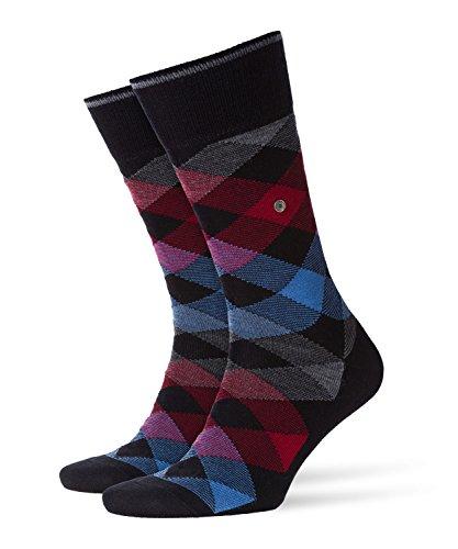 BURLINGTON Herren Socken Newcastle - Schurwollmischung, 1 Paar, Schwarz (Black 3002), Größe: 40-46