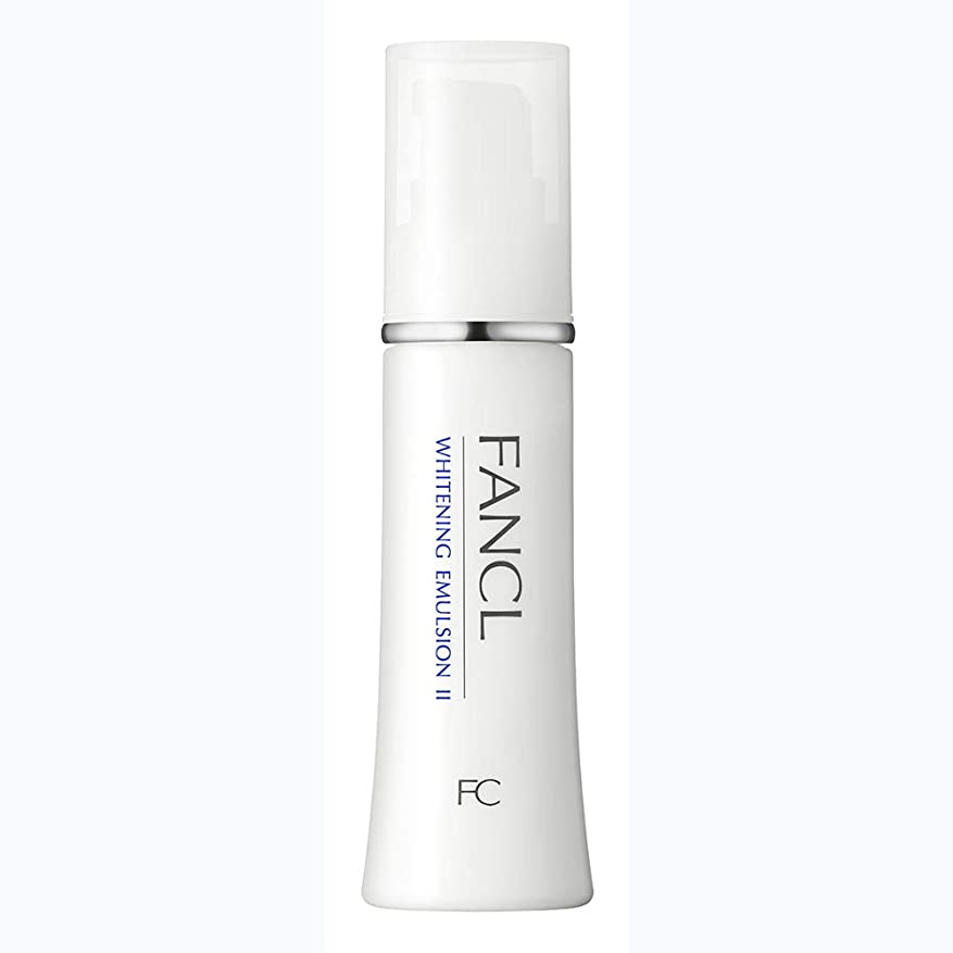 宿泊できたワンダーファンケル(FANCL) 新 ホワイトニング 乳液 II しっとり 1本 30mL<医薬部外品>