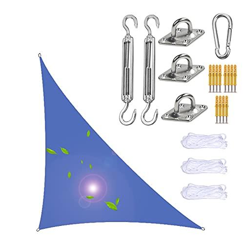 XIGG Vela De Sombra, Toldo Vela Triangular, Toldos Impermeable, Al Aire Libre Toldo Vela Toldo, Parasol Camping, Triangle Canopy