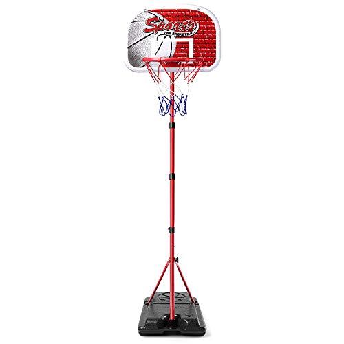 ZZLYY Canasta Baloncesto Exterior, 10in Canasta Baloncesto 175-210cm Soporte Ajustable, Juguete De Baloncesto para Niños Mayores De 6 Años,210cm