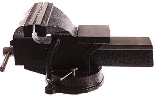 Geko G01033 - Tornillo de banco (200 mm), color negro