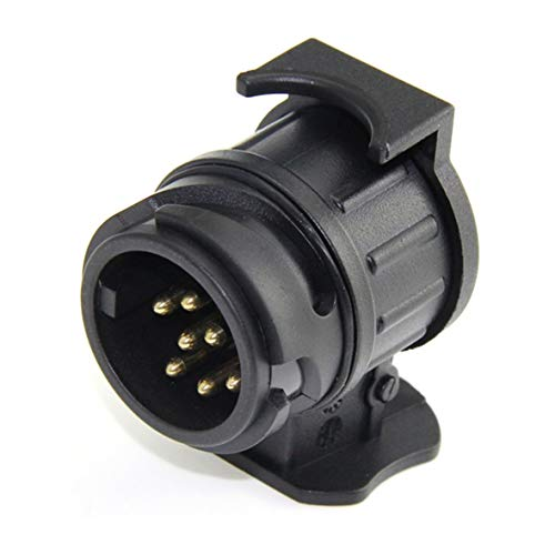 Heaviesk 13 Pin wiederum 7 Pin Steckdose Autokabel Stecker Wasserdichte Anhänger Signal Licht Auto Abschleppen Conversion Adapter