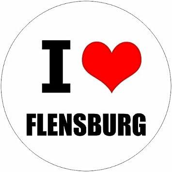 I Love Flensburg In Zwei Größen Erhältlich Aufkleber Mehrfarbig Jdm Decal Sticker Racing Baumarkt