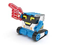Here at Really RAD Robots, we build REALLY RAD ROBOTS….like MiBro, your robot partner in fun! Team up together for some awesome antics and sneaky adventures! Be the Bot with MiBro and talk through him, using the Really RAD Remote! Have fun and tell j...