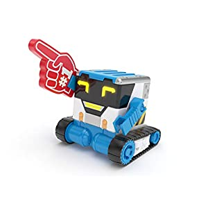 Really RAD Robots MiBRO - Interactive Remote Control Robot with Accessories, 50+ Functions & Sounds - Your Personal Prank Bot | Plays, Talks, and Pranks - 413sE3PbuxL - Really RAD Robots MiBRO – Interactive Remote Control Robot with Accessories, 50+ Functions & Sounds – Your Personal…