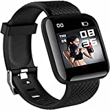 Water Resistance Smart fitness Band with Bluetooth And Heart Rate sensor, Activity Recorder, Sleep Monitor, Calorie Counter, Call Notifications, Alarm, Message, Usb Charging Supports smart phones, Tablets and PC's and also support Android and IOS NOT...