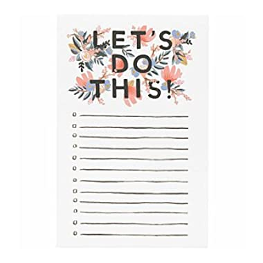 Rifle Paper Co.  Let's Do This  Notepad