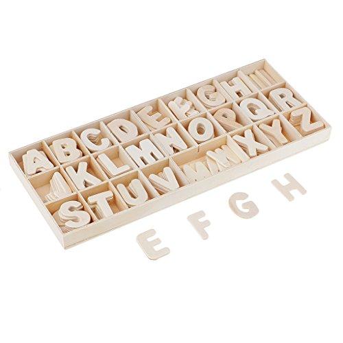 Sharplace 156er Handwerk Holz buchstaben Für Kunsthandwerk DIY