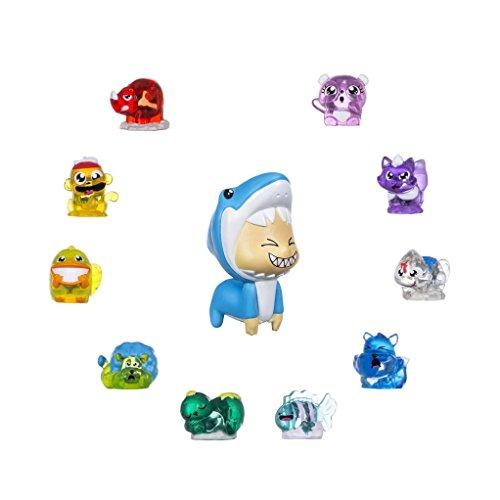 Hasbro Hanazuki B8458ES0 - Lunalux Sammelschätze Tiere, Figurenset