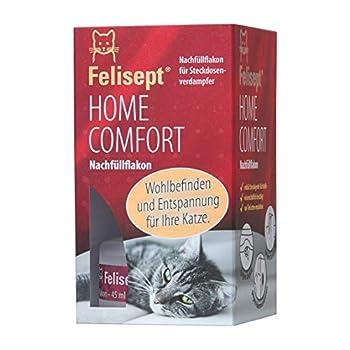 Felisept Home Comfort Recharge 45 ml - Anti-Stress Pour Chat - Avec De L'Herbe À Chat Naturelle -Bien-Être Et Relaxation Pour Les Chats