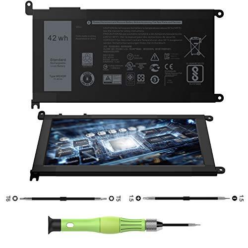 CREATESTAR WDX0R Laptop Battery for Dell Inspiron 15 5565 5567 5568 5578 7560 7570 7579 7569 P58F Inspiron 13 5368 5378 5379 7368 7378 Inspiron 14-7460 Inspiron 17 5765 5767 FC92N 3CRH3 T2JX4 CYMGM