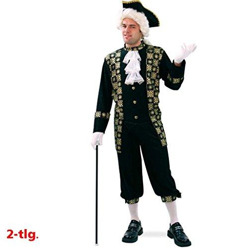 KarnevalsTeufel Ludwig Männerkostüm 2-TLG. bestehend aus Hemd und Hose in schwarz mit goldfarbenen...